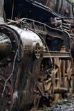 Abandoned locomotive park