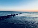Coucher de soleil à la baie d'Authie