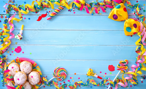 Colorful carnival or birthday background - 246997573