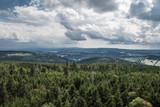 Fototapeta Room - Widok z wieży na Wielkiej Sowie. Góry Sowie, dolnośląskie, Polska © Piotr Czerkawski