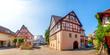 Leinwanddruck Bild - Altes Rathaus, Jagsthausen