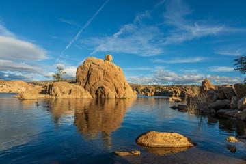 Scenic Watson lake Landscape Prescott Arizona © natureguy