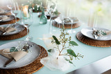 Festive event table decoration - 247041738
