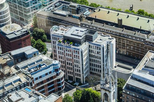 fototapeta na ścianę Architecture of London seen from above, United Kingdom