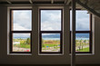 View of the seaside park through the windows - 247111137