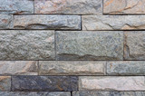 Marble and brick wall texture background