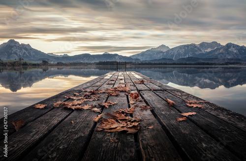Im Herbst am Hopfensee © Klaus Steinert
