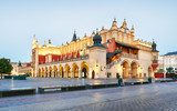 Krakow - Sukiennice buidning with Town Hall in the background - 247175300