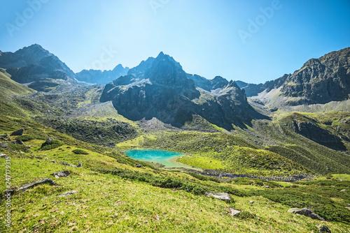 Gebirgssee in Tirol