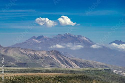 mountain landscape in Peru