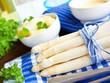 Leinwanddruck Bild - Spargel Asparagus