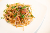 Italian Pasta with onion, tuna, and taggiasche olives - 247201100
