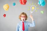 Success, creative and idea concept - 247203305
