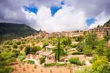 Panoramic view of Valldemossa in Mallorca. - 247204381