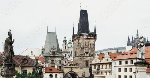fototapeta na ścianę Acient architecture in Prague