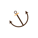 Anchor, connection icon. Element of Web Optimization icon for mobile concept and web apps. Detailed Anchor, connection icon can be used for web and mobile