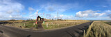 Panorama from a small house on Texel