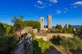 San Gimignano medieval town in Tuscany Italy - 247296304