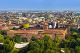 Sforza Castle in Milan Italy - 247296335