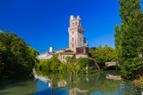 Galileo Astronomical Observatory La Specola Tower in Padova Italy - 247296345