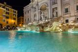 Fountain di Trevi in Rome Italy - 247296365