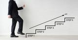ビジネスイメージ―ステップアップ - 247299783