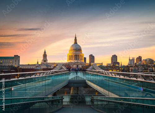 St Paul Cathedral, London, United Kingdom - 247314938