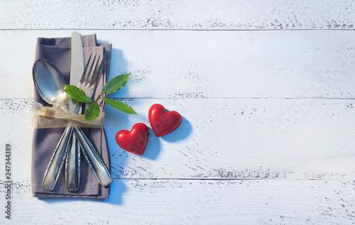 14. Februar Valentinstag Diner - 247344389