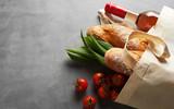 Natural fiber eco-friendly reusable shopping bag