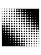 schatten quadrat comic cartoon raster linie strich reihe kunst punkte muster design verlauf dots schraffur fläche cool übergang