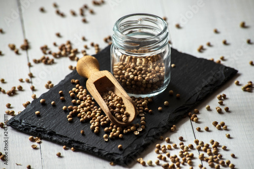 coriander cilantro seeds © marcinm111