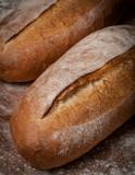 Close Up Baguette Bread