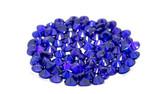 Colorful Ruby on background - luxury gemstone - 247418354