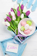Easter greeting card - 247421191