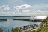 Hafenanlage auf Helgoland