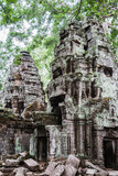 Ancient ruins in Siem Reap Park, Cambodia