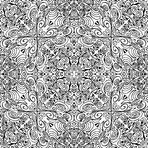 Unique, abstract pattern - vector - 247468908