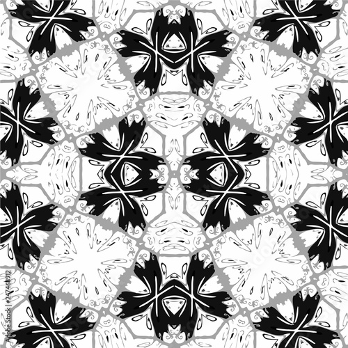 Unique, abstract pattern - vector - 247468912