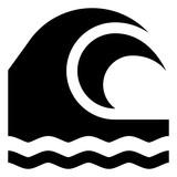 Ocean Wave Vector Icon - 247480361