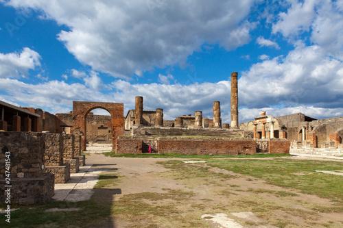 Pompei Italy ruins
