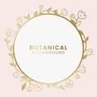 Botanical floral illustration