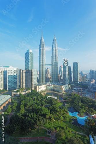 Kuala Lumpur city, Malaysia