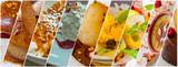 assortiment de desserts  - 247498130