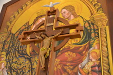 """Постер, картина, фотообои """"Cross in Mass"""""""