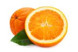 Ctrus fruit orange closeup