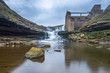 El Bolao Waterfall and a mill in ruins, Cantabria, Spain - 247522747