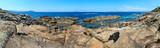 Atlantic rocky coast (Galicia, Spain).
