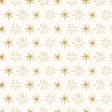 Golden night sky pattern with stars