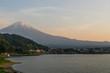 Leinwanddruck Bild - Monte Fuji