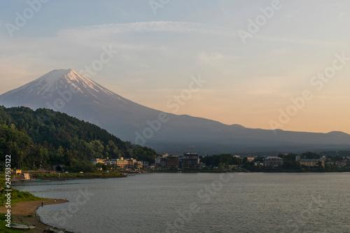 Leinwanddruck Bild Monte Fuji